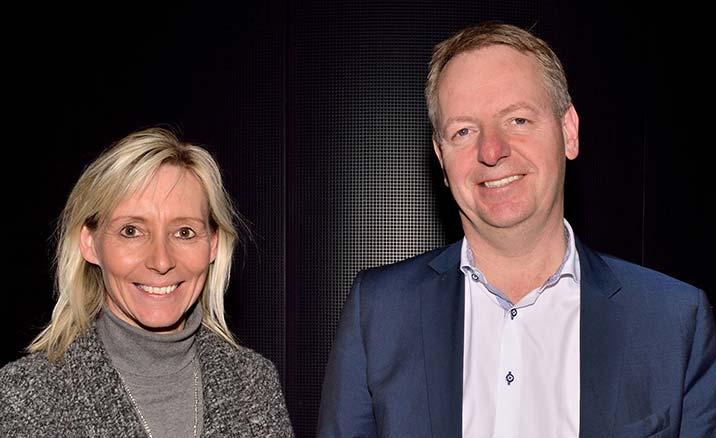 Susanne Hessellund og Niels Duedahl